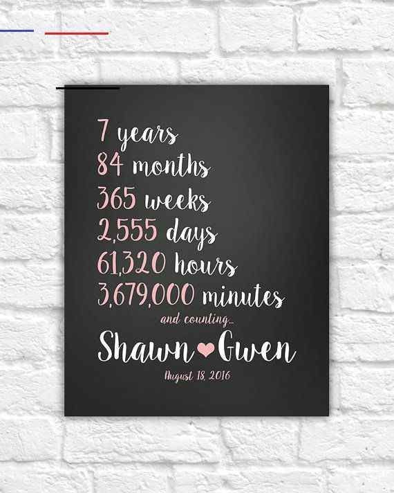 7 Year Anniversary Quotes : anniversary, quotes, Anniversary, Gift,, Wedding, Countdown...#7th, #anni…, Anniversary,, Gifts