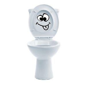 Humorous Toilet Seat Lids | Smiley-Face-Funny-Toilet-Seat-Lid-Humor-Decal-Vinyl-Vynil-Bathroom ...