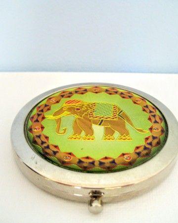 indian-elephant-mirror-funny-καθρεφτάκι-καθρέφτης-τσάντα-τσέπης-1