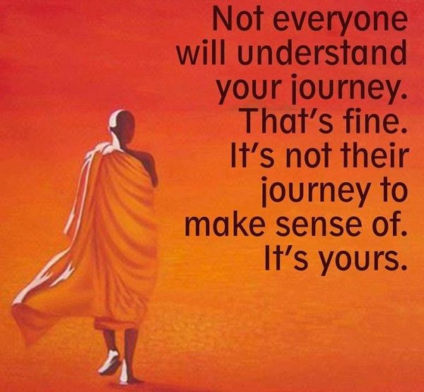 ❥ Your walk is yours alone: Understands, Words Of Wisdom, The Journey, Life, Truths, True, Living, Inspiration Quotes, Wise Words