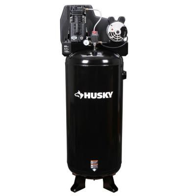Husky 60-Gal. Stationary Electric Air Compressor-C601H at The Home Depot