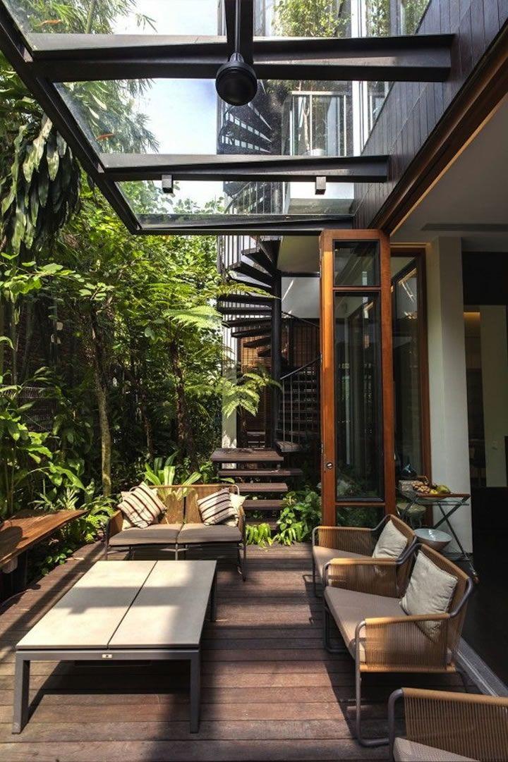 17 mejores ideas sobre cubiertas de patio trasero en pinterest cubiertas para patio cubiertas - Cubiertas para patios interiores ...