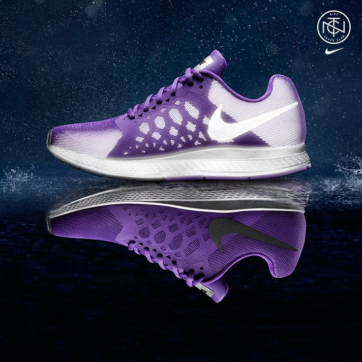 Sick Purple Nikes #werq #werple #fitlife