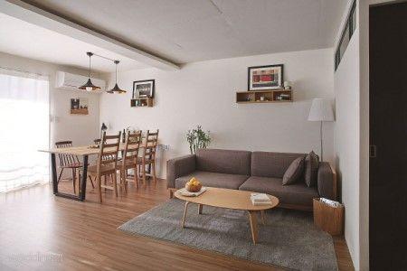 오래된 원룸이 신혼집으로 변신하다 : 매거진캐스트