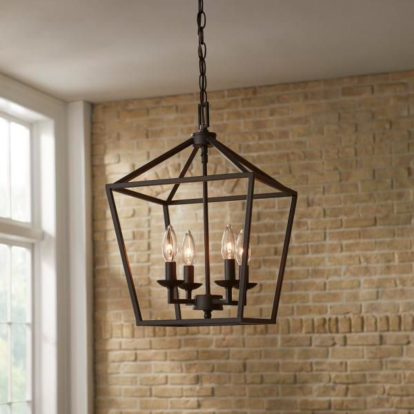 Farmhouse Chandeliers Lighting The Home Depot