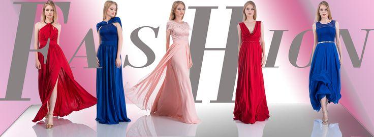 Vestido largo, Vestidos azul, vestidos rojas, fashion