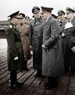Mareşalul Ion Antonescu: Mareşalul Antonescu - Adolf Hitler - Față în față ...