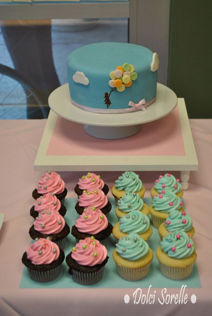 Balloon cake #cake #balloons