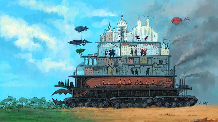 Mortal Engines: London by eleth89