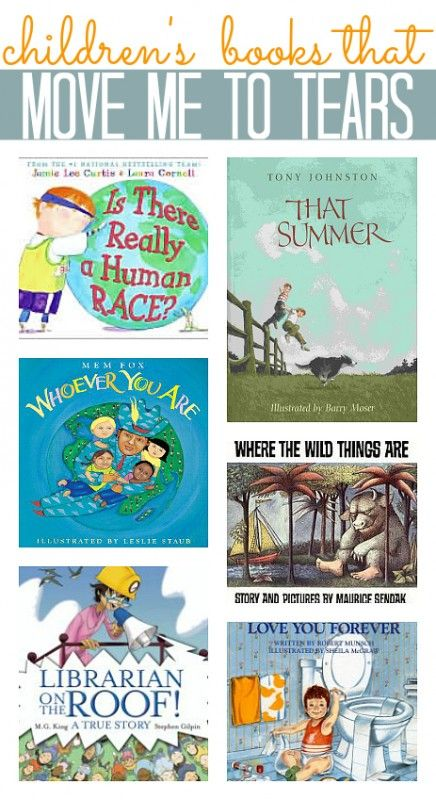 List of tear jerker children's boos. Which one makes you cry?