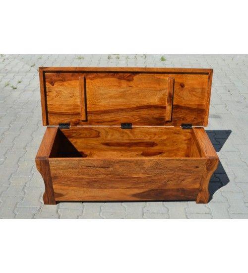 #Indyjska #drewniane #ławka & #siedzisko @ http://www.indianmeble.pl/lawki-siedziska-taborety/indyjskie-drewniany-lawka-GA-BOX  #meble z wysokiej jakości drewna egzotycznego