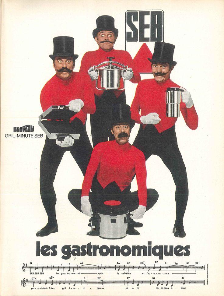 Seb, les gastronomiques (avec les Frères Jacques) - Modes de Paris, décembre 1970