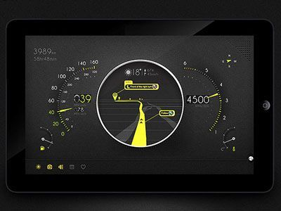 Automotive Control Panel by Sans