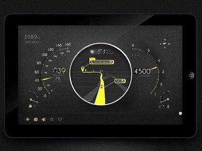 Automotive Control Panel by Sans