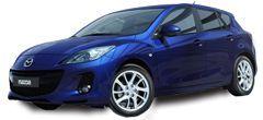 Wynajem samochodów marki Mazda