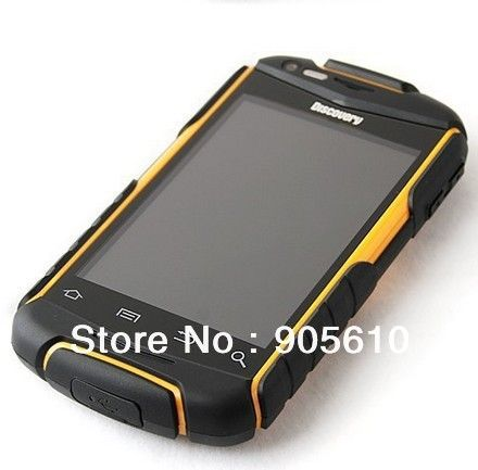 Discovery V5 Android 2.3.5 capacitive screen smartphone phone Waterproof Dustproof Shockproof WIFI Dual camera 4COLORS US $74.99