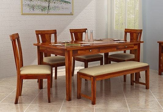 42++ Dining set for 6 with bench Ideas