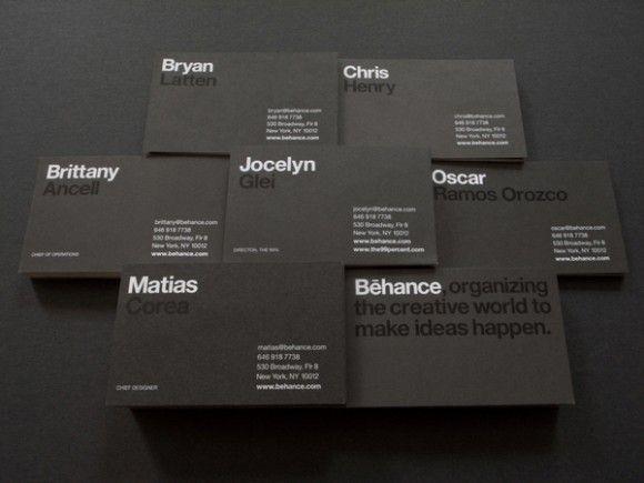 behance business card design 23  http://www.brandingidentitydesign.com/25-clean-minimal-business-cards/#