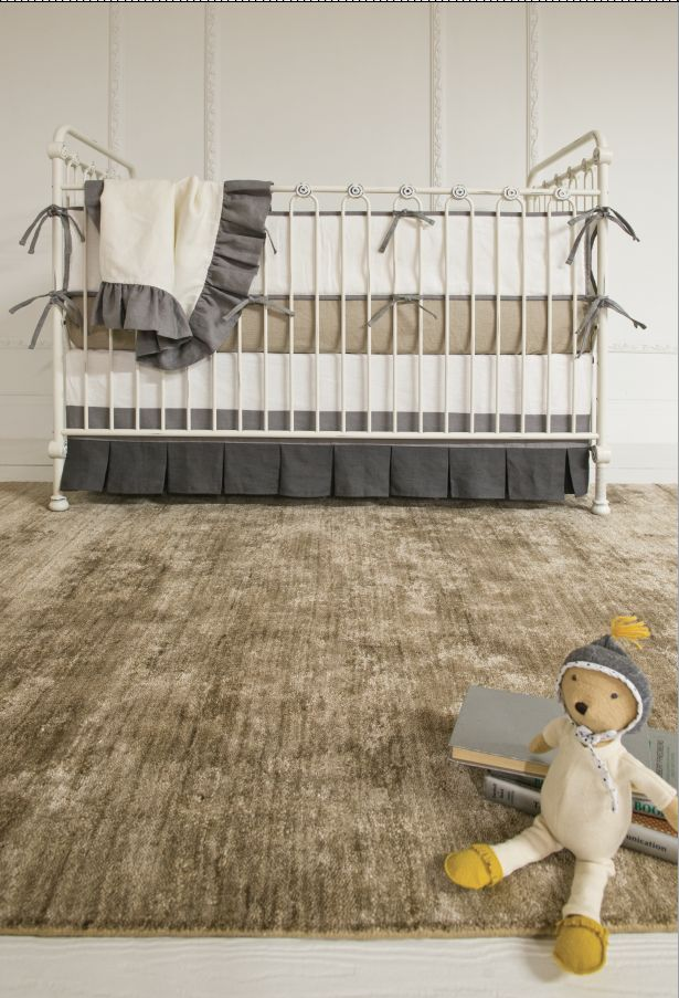 joy in distressed white is such a versatile crib
