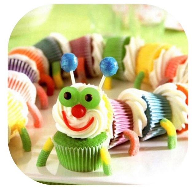 Gluten Free Caterpillar Cake Recipe