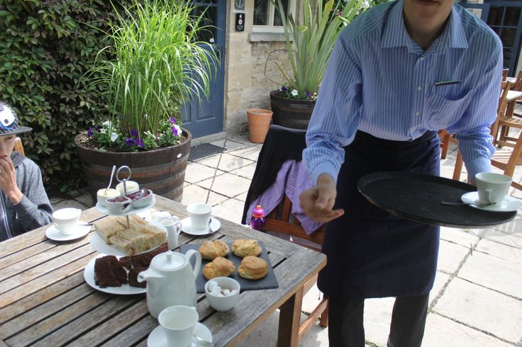 Scones in the Cotswolds earlier this year