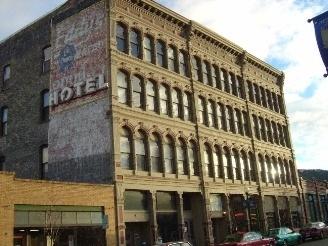 Iron Front Hotel Helena Mt