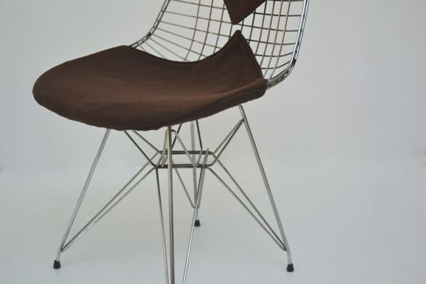 Set of Four Eames Chairs designed for ICF
