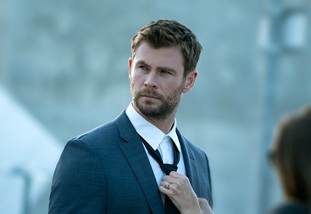 Chris Hemsworth photoshoot for Hugo Boss.