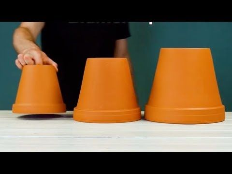 That's how to transform 3 flower pots into a real ATTRACTION! – Youtube