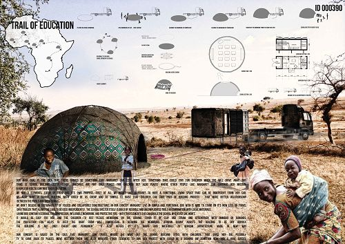 24H COMPETITION 4th edition // nowadays nomadays - school house trailer // - Architecture Competition Results