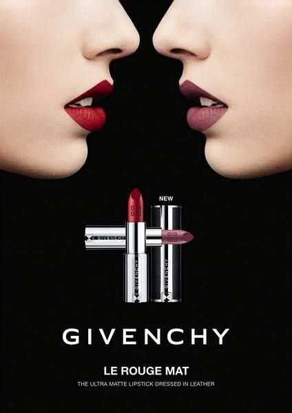 Givenchy Spring 2018 Le Rouge Mat Swatches and Makeup Look