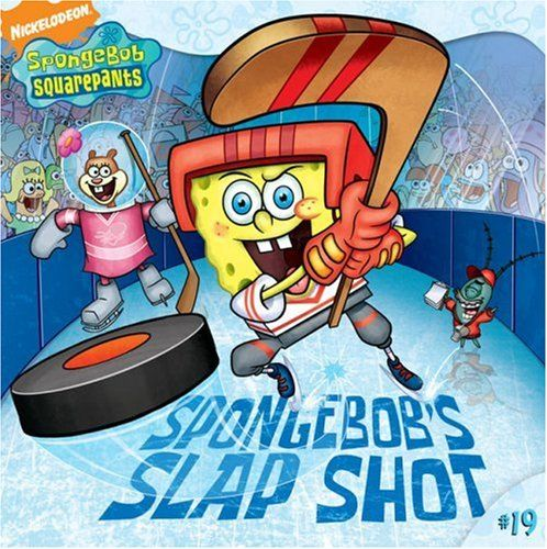 SpongeBobs Slap Shot (Spongebob Squarepants (8x8)) @ niftywarehouse.com #NiftyWarehouse #Spongebob #SpongebobSquarepants #Cartoon #TV #Show