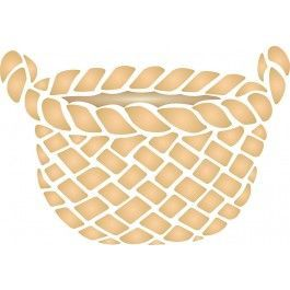Stencils For Wallsu0027 Garden Basket Stencil Would Be Perfect For A Wooden  Sign Or As