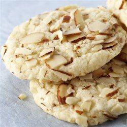 A Picture of a sugar free Almond cookie recipe