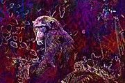 "New artwork for sale! - "" Chimpanzee Monkey Ape View Animal  by PixBreak Art "" - http://ift.tt/2vVj6z7"
