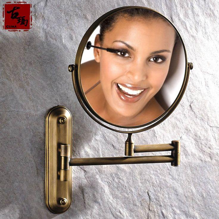 Купить товарВсе меди горячий продавать антикварные красоты зеркало зеркало в ванной стены растяжения континентальный двусторонняя зеркало увеличительное зеркало складной в категории Зеркала для ваннойна AliExpress.       Потому что различные инструменты и методы измерения,  Там может быть небольшое отклонение размера,  Про, если боле