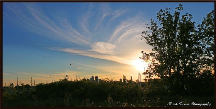 Toronto Skyline, as seen from Cherry Street