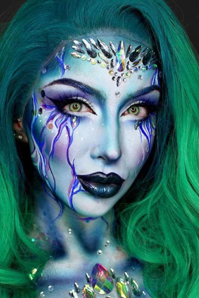 Fairy Unicorn Makeup Ideas For Parties ★ See more: http://glaminati.com/fairy-unicorn-makeup-ideas/
