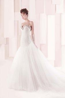 http://www.mariage.com/robes-de-mariee/les-robes-par-marque/1119-gemy-maaloufcollection-printemps-ete-2014 Gemy Maalouf, collection printemps-été 2014
