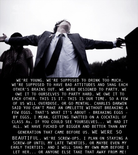 the misfits. Best. Quote. Ever.