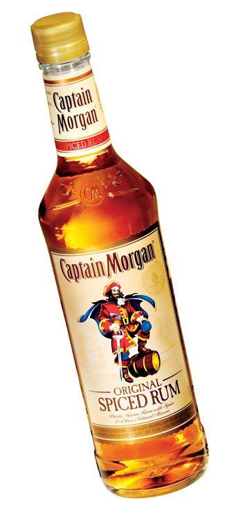 Summer Spirits. Captain Morgan rum for some recipes popular Caribbean cocktails