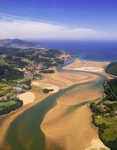 Urdarbai reserva de la biosfera Pais Vasco