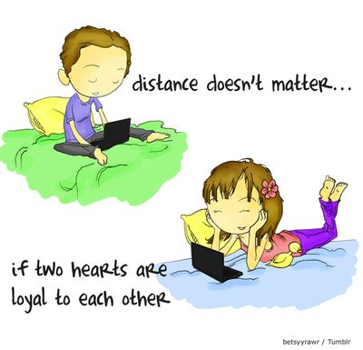Ketika cinta harus terpisah jarak... www.vemale.com