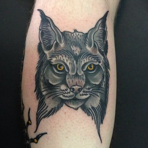 41 best bob cat tattoo traditional images on pinterest tattoo traditional bob cat and. Black Bedroom Furniture Sets. Home Design Ideas