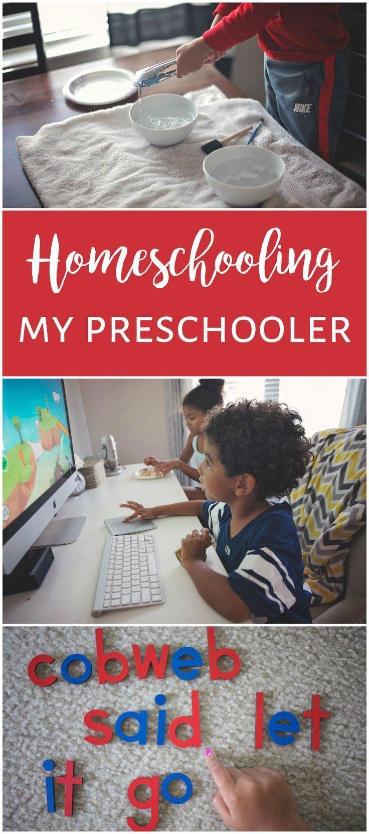 My Simplified Game Plan For Homeschooling My Preschooler Epic