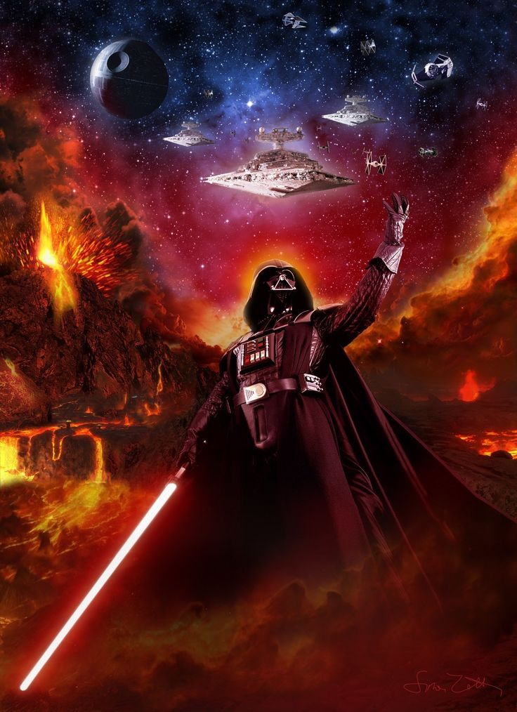In 19 BBY, Vader was recruited into the Order of the Sith Lords, after aiding Sidious in the death of Jedi Master, Mace Windu. Description from deviantart.com. I searched for this on bing.com/images