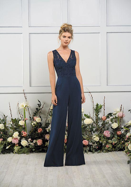 Wide Leg Bridesmaid Jumpsuit Jasmine Bridal B193053 Http Trib Al
