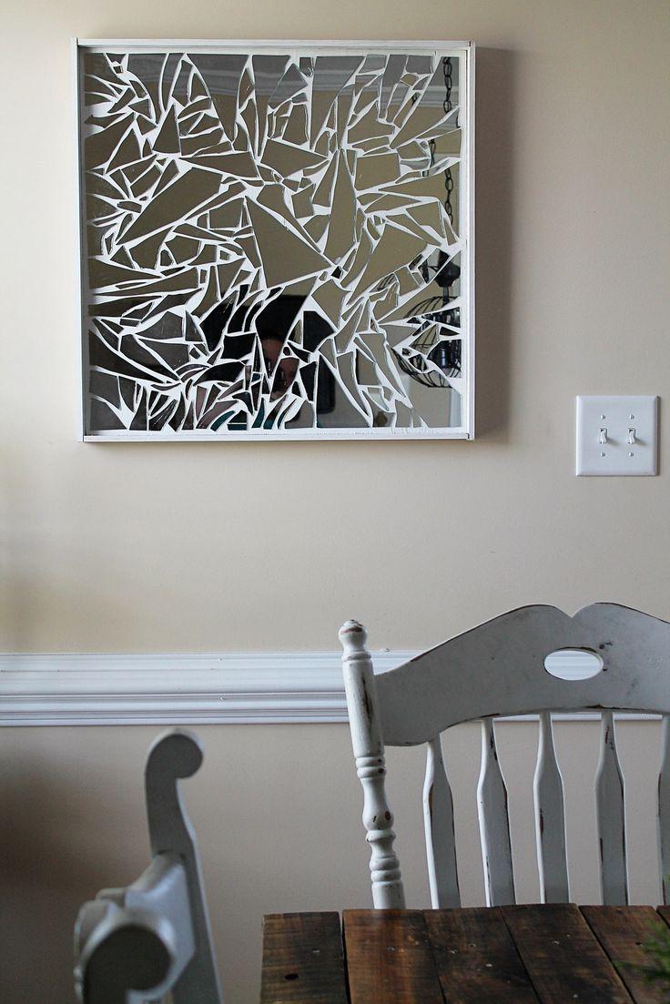 Broken Mirror Wall Art 16 Best Mirror Images On Pinterest Mirror Mosaic Broken Mirror