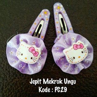 Toko Cherish Imut: Jepet Rambut Hello Kitty Murah Grosir Ecer Mekrok ...