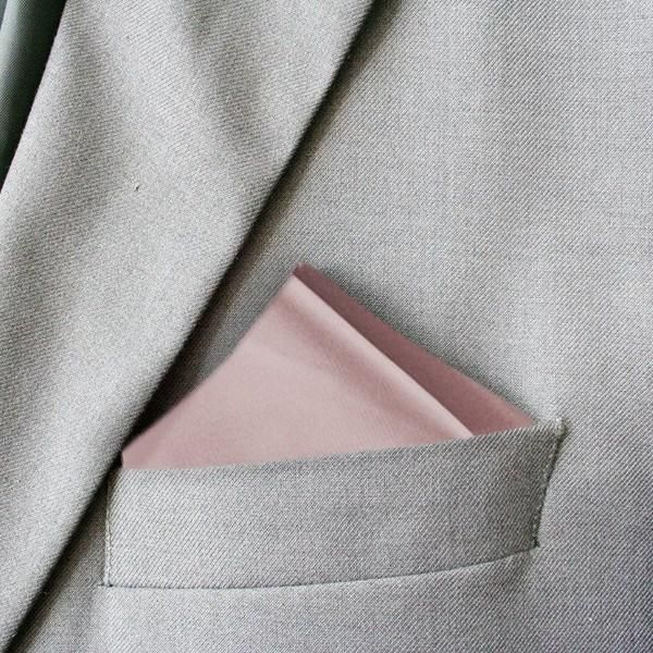 Dusty Pink Devotion Silk PocketDusty pink silk pocket square. A perfect addition to complete your outfit.Also available with a matching:Silk Wedding ...
